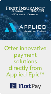 Certified Integration Partnership enables insured payment plans for Applied Epic brokerages